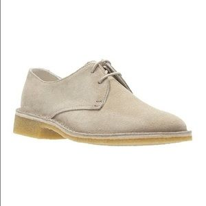 🆕Clarks Friya Point Sand Suede Oxfords